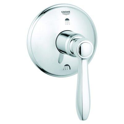 Somerset 3-Port Diverter Faucet Shower Faucet Trim Only Finish: Chrome