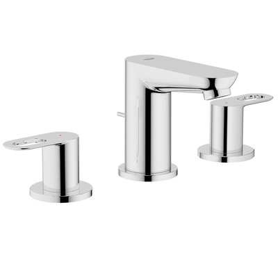 BauLoop Double Handle Widespread Bathroom Faucet