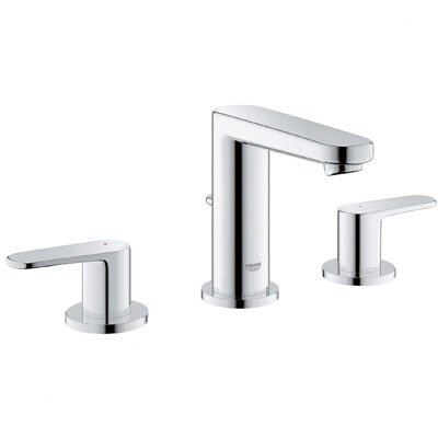 Europlus Double Handle Bathroom Faucet Finish: Chrome
