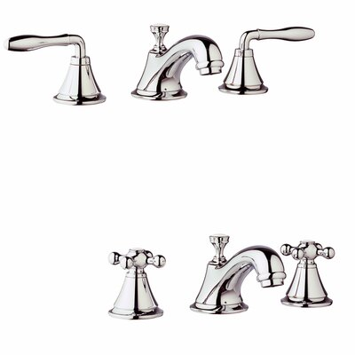Seabury Widespread Bathroom Faucet, Less Handles Finish: Polished Nickel