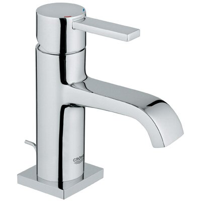 Allure Single Handle Single Hole Bathroom Faucet
