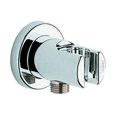 Wall Union with Holder Finish: Chrome