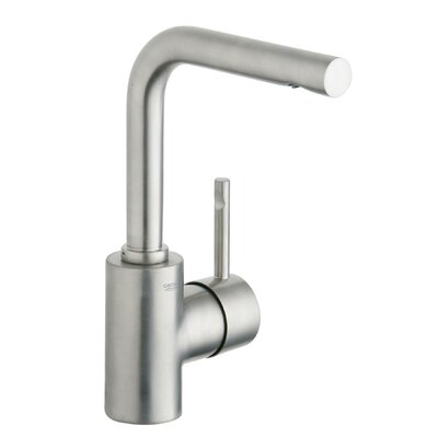 Essence Single Handle Single Hole Bathroom Faucet Finish: Brushed Nickel