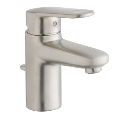 Europlus Single Handle Centerset Bathroom Faucet Finish: Brushed Nickel