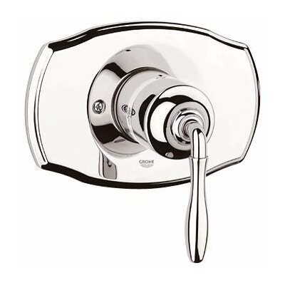 Seabury Pressure Balance Shower Faucet Trim Only with Lever Handle Finish: Polished Nickel
