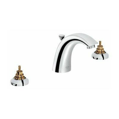 Arden Widespread Bathroom Faucet, Less Handles Finish: Chrome