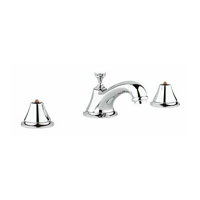 Seabury Widespread Bathroom Faucet, Less Handles Finish: Chrome