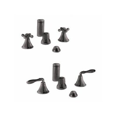Seabury Vertical Spray Bidet Faucet, Less Handles Finish: Oil Rubbed Bronze