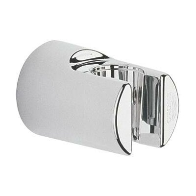 Fixed Wall Mounted Hand Shower Holder Finish: Brushed Nickel