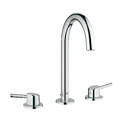 Concetto Double Handle Widespread Bathroom Faucet Finish: Chrome