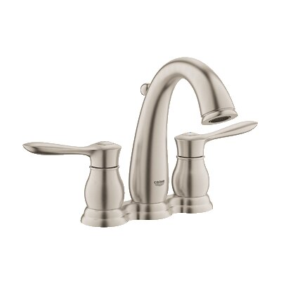Parkfield Double Handle Centerset Bathroom Faucet Finish: Brushed Nickel
