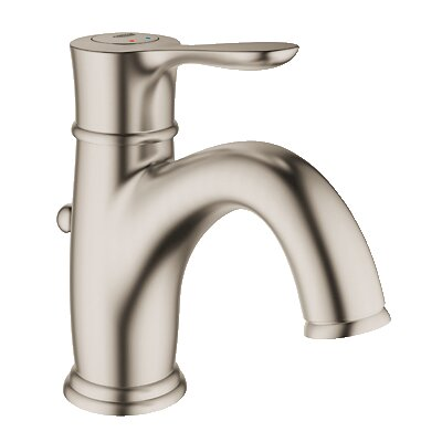 Parkfield Single Handle Single Hole Bathroom Faucet Finish: Brushed Nickel