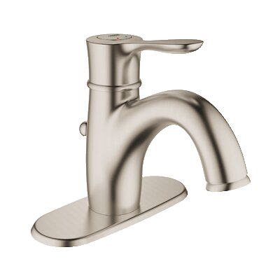 Parkfield Single Handle Centerset Bathroom Faucet Finish: Brushed Nickel