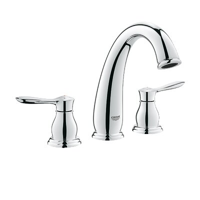 Parkfield Double Handle Widespread Bathroom Faucet Finish: Chrome