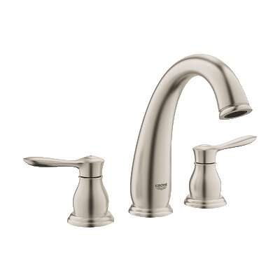 Parkfield Double Handle Widespread Bathroom Faucet Finish: Brushed Nickel