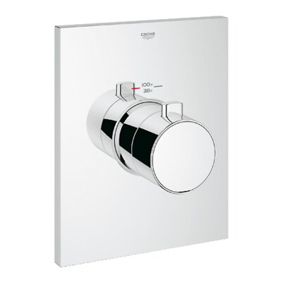 Grohtherm Thermostatic Shower Faucet Trim
