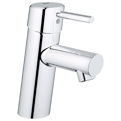 Concetto Single Handle Single Hole Bathroom Faucet Finish: Chrome