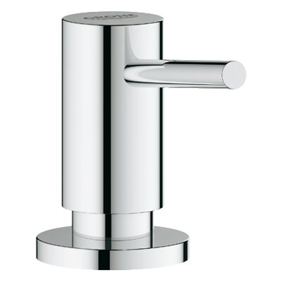 Cosmopolitan Bathroom Soap Dispenser Finish: Chrome