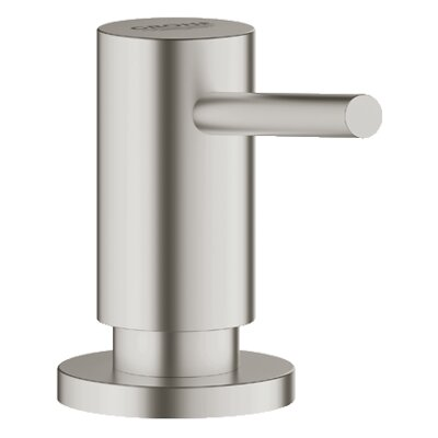 Cosmopolitan Bathroom Soap Dispenser Finish: Supersteel