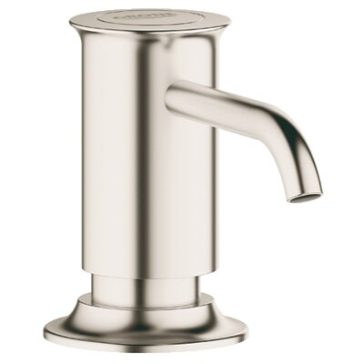 Authentic Soap Dispenser Finish: Brushed Nickel