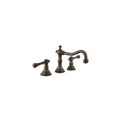 Bridgeford Widespread Bathroom Faucet, Less Handles Finish: Oil Rubbed Bronze