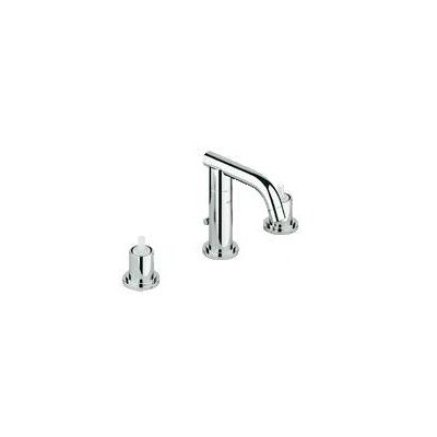 Atrio Widespread Bathroom Faucet, Less Handles Finish: Chrome