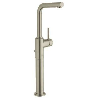 Atrio Single Handle Single Hole Bathroom Faucet Finish: Brushed Nickel