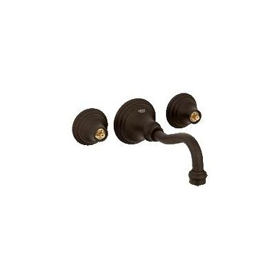 Bridgeford Wall Mounted Bathroom Faucet, Less Handles Finish: Oil Rubbed Bronze