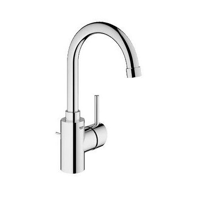 Concetto Single Handle Single Hole Bathroom Faucet Finish: Brushed Nickel