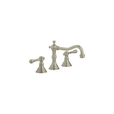 Bridgeford Widespread Bathroom Faucet, Less Handles Finish: Brushed Nickel