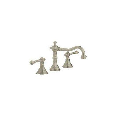 Bridgeford Widespread Bathroom Faucet, Less Handles Finish: Brushed Nickel