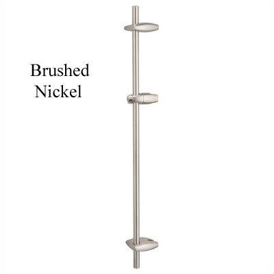 Movario Shower Bar Finish: Brushed Nickel