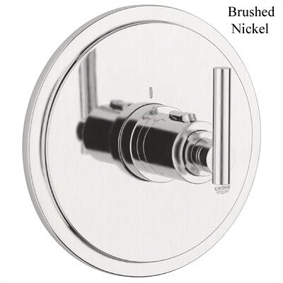 Atrio Thermostatic Trim with Lever Handle Finish: Brushed Nickel