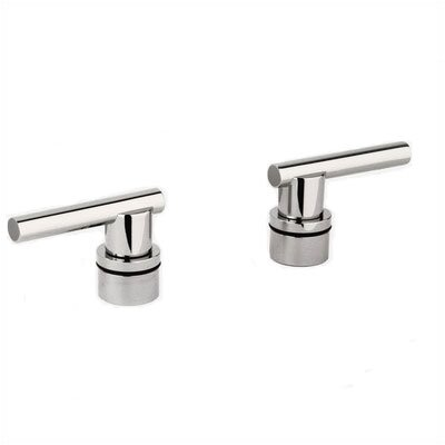 Atrio Lever Handles for Kitchen / Bar and Lavatories Finish: Sterling