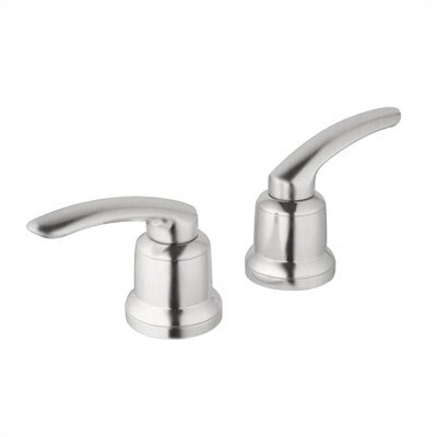 Talia Volo Lever Handles Finish: Brushed Nickel