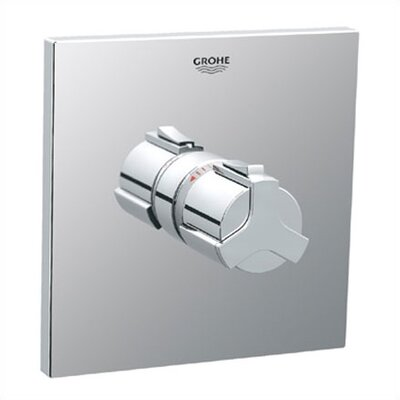 Allure Thermostatic Shower Faucet Trim with Grip Handle