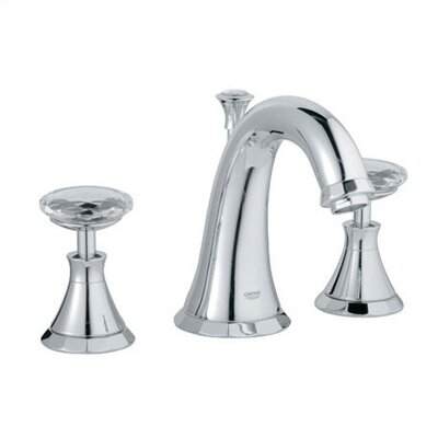 Kensington Widespread Bathroom Faucet Finish: Chrome