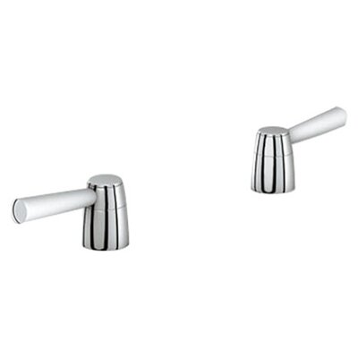 Arden Lever Handles Finish: Chrome