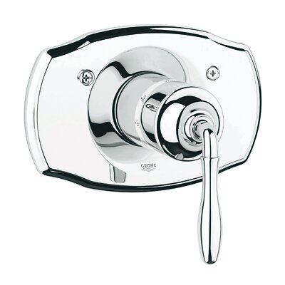Seabury Thermostatic Faucet Trim with Lever Handle Finish: Chrome