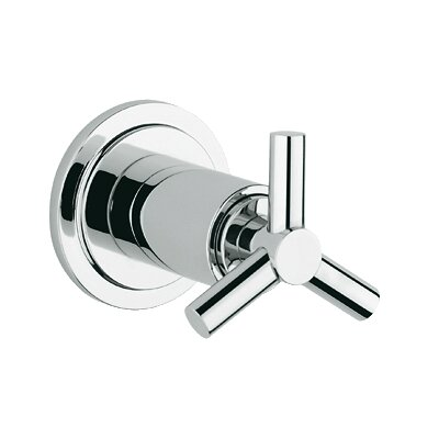 Atrio Volume Control Faucet Trim with Spoke Handle Finish: Chrome