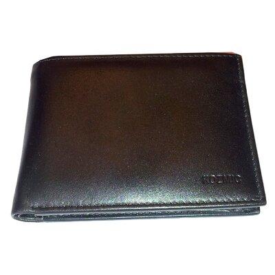 Kozmic Leather LFU ID Bi Fold Wallet - Color: Black at Sears.com