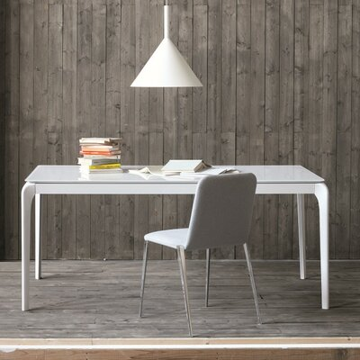 Julia Extendable Dining Table Size: 30 inch H x 71 inch W x 33.5 inch D