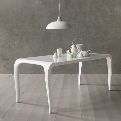 Arial Extendable Dining Table Size: 29.5 H x 33 W x 72 D
