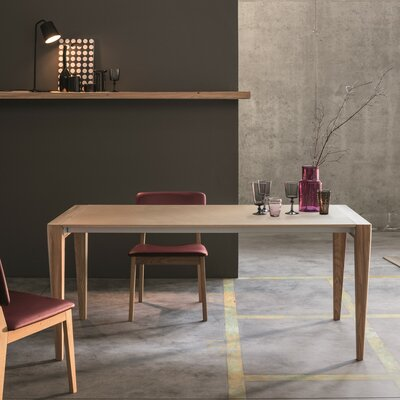Retro Extendable Dining Table Size: 30 H x 39 W x 82 - 113 D