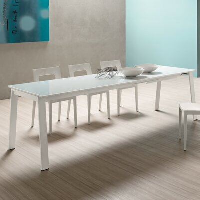 Alpha Extendable Dining Table Size: 29.5 H x 31.5 W x 55 - 102.25 D