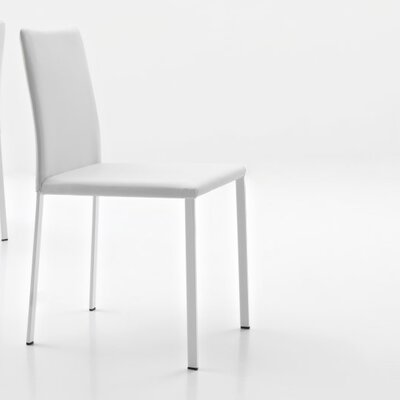 Sarah Side Chair Upholstery: White