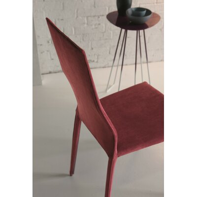 Star Upholstered Dining Chair (Set of 2) Color: Glamour Red