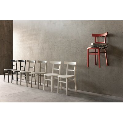 Verona Side Chair (Set of 2) Finish: Red