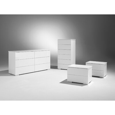 Basic 6 Drawer Double Dresser