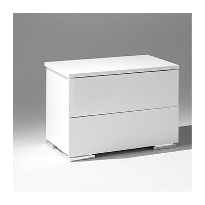 Basic 2 Drawer Nightstand